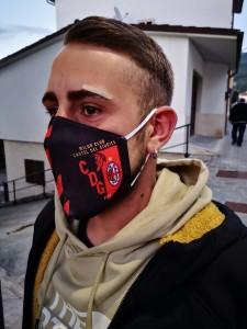 Mascherina Milan Club CDG