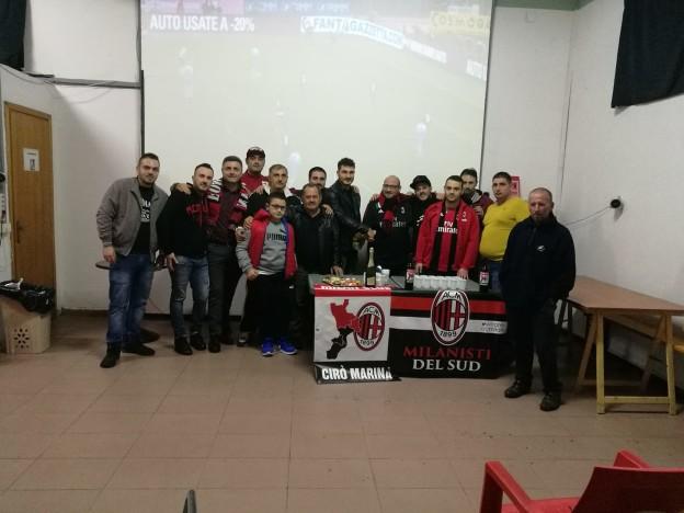 Milan club Cirò Marina e Milanisti del sud.