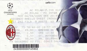 Milan-Inter 2-0 Ch L. 05