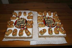 la torta per la festa