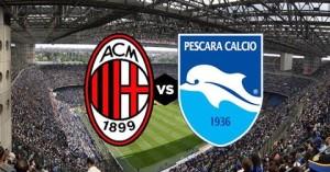 Milan vs Pescara