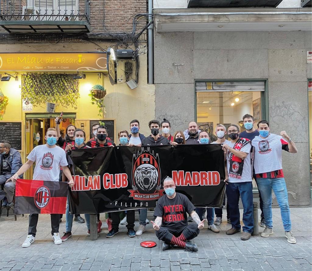Primera quedada del Milan Club Madrid, el 21 de Septiembre de 2020