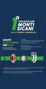 1° Triangolare Monti Sicani - vincitore Milan Club F. Baresi Monti Sicani