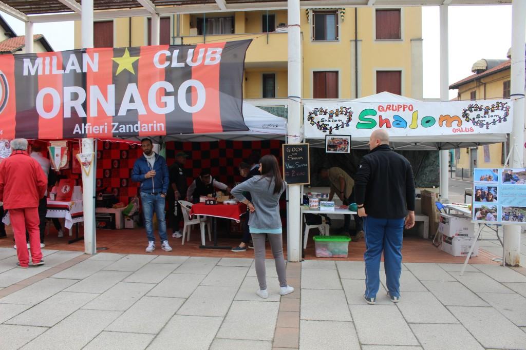 Il Milan Club Ornago Alfieri Zandarin ringrazia il GRUPPO SHALOM ONLUS per la loro partecipazione alla festa del VOLONTARIATO e delle ASSOCIAZIONI 2019