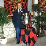 LORENZO GALIOTTO (PRESIDENTE DEL CLUB) CON LA COPPA CAMPIONI!!!
