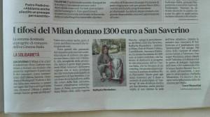 Corriere Adriatico del 23/12/2017