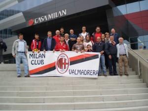 Il Milan Club Valmadrera, domenica 12 ottobre si è recato a visitare casa milan