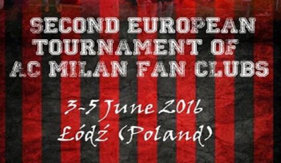 SECONDO TORNEO MILAN CLUB D'EUROPA
