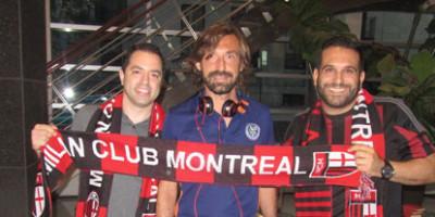 Milan club Montreal ….fa tornare Pirlo Rossonero.