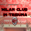 Milan Club in Tribuna , Milan Sampdoria