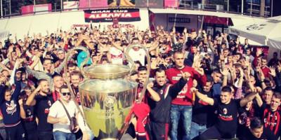 M.C. Albania , grande festa con la Champions!