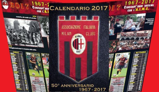 50 anni di AIMC , il calendario 2017