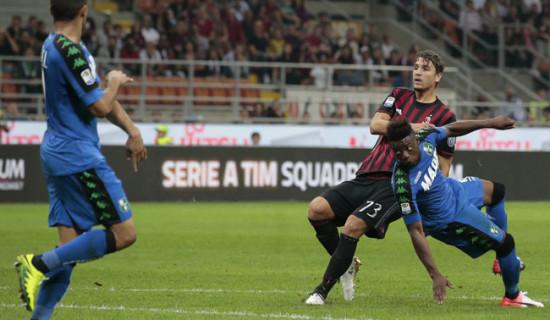 Milan – Sassuolo, quanta paura poi…..