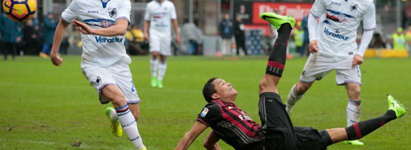 Milan – Sampdoria …..non si segna e vince più!