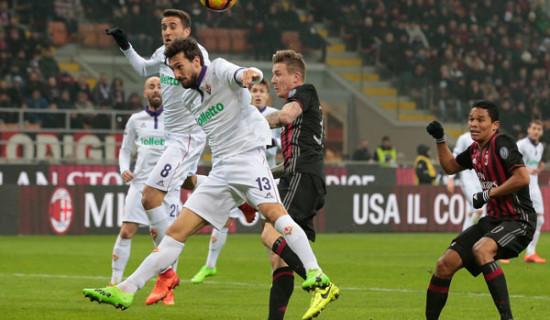 Milan – Fiorentina, contro tutto e tutti …2 – 1!