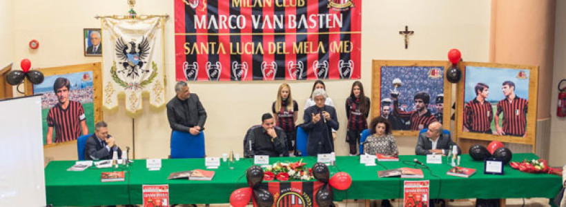 Santa Lucia del Mela , con Rivera inaugurato il Club.