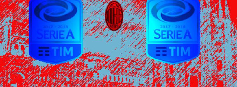 Anticipi e Posticipi del Milan 18 e 19 di andata e 1 e 2 di ritorno  e date Coppa Italia