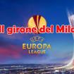 Gli incontri del girone di Europa League