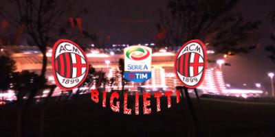 Semifinale di Coppa Italia Milan – Lazio, Biglietti.
