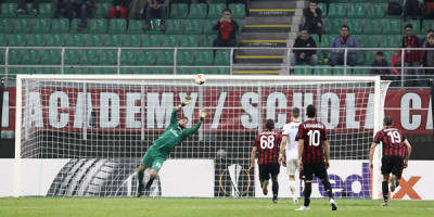 Europa League , Milan – AEK Atene 0 – 0
