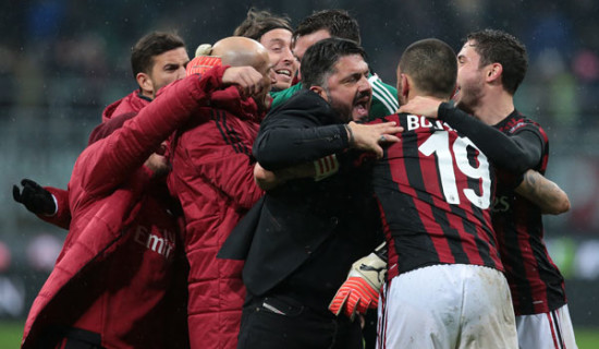 Milan – Inter il 04/04/2018 ore 18.30 e Milan – Napoli alle 15.00