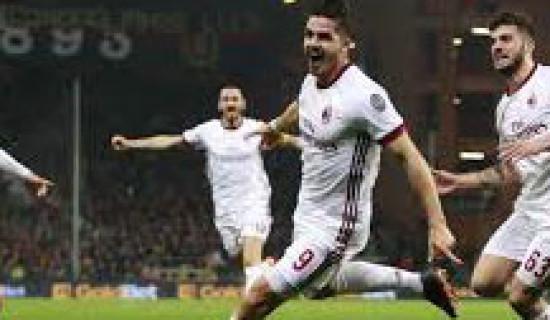 Genoa – Milan 0 – 1