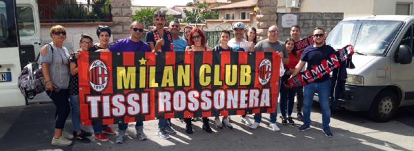 Milan Club Tissi a Cagliari.