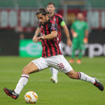 AC Milan v Olympiacos - UEFA Europa League - Group F
