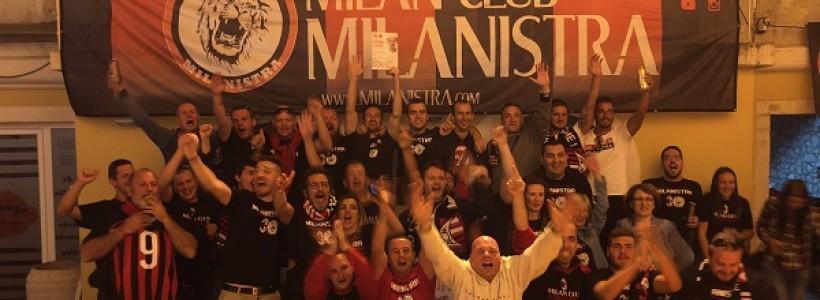 """Milanistra in festa con la """"voce di San Siro"""""""