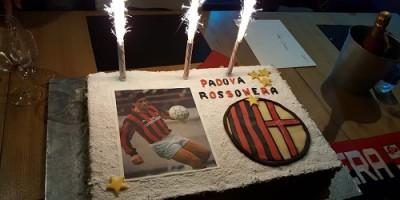 Chicco Evani al Club Padova Rossonera con beneficenza
