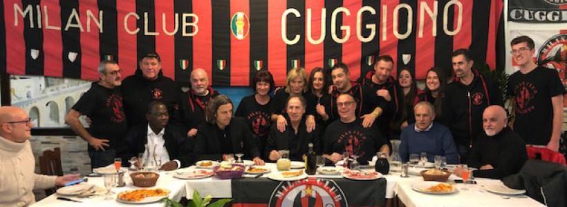Milan Club Cuggiono , festa di Natale con il Capitano e beneficenza!