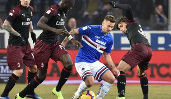 Sampdoria – Milan una sconfitta ridicola!