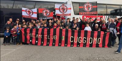 Milan club Cuggiono una settimana rossonera…..