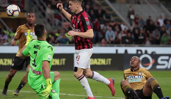 Milan – Udinese ancora nessuna reazione…….