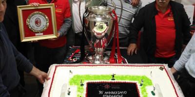 Milan Club Camposampiero 35° con la Champions