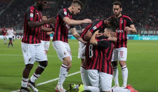 Milan – Bologna. finalmente una vittoria!