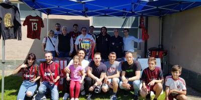 """Milan Club Garessio 500 """"pulcini"""" in festa con la Champions."""