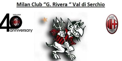 Milan club Val di Serchio , festeggiati i 40 anni.