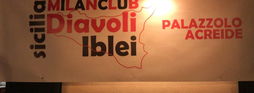 Inaugurato il Milan Club Diavoli Iblei con Tiziano Crudeli