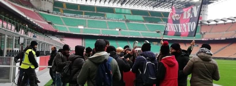 Allo stadio con le coppe una bella iniziativa ma riuscita in parte!