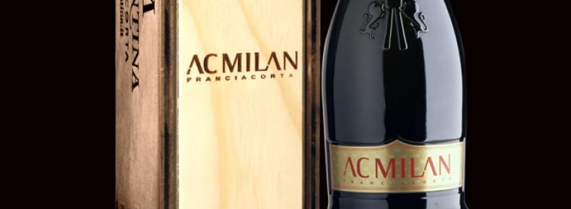 AC Milan: si stappa la prima bottiglia  di Franciacorta RossoNero