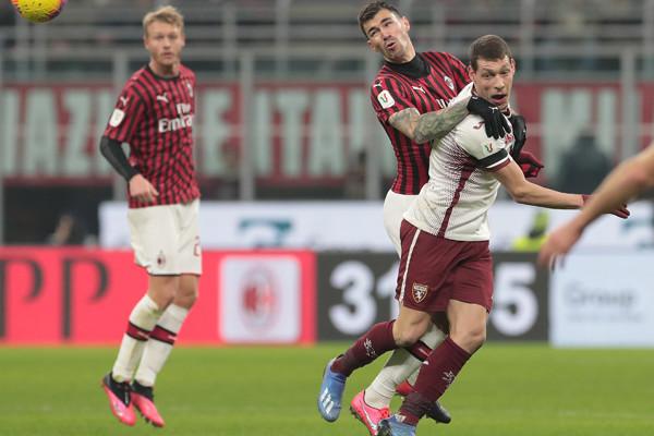 AC Milan v Torino - Coppa Italia: Quarter Final