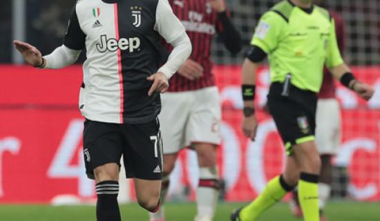 Juventus – Milan di Coppa Italia