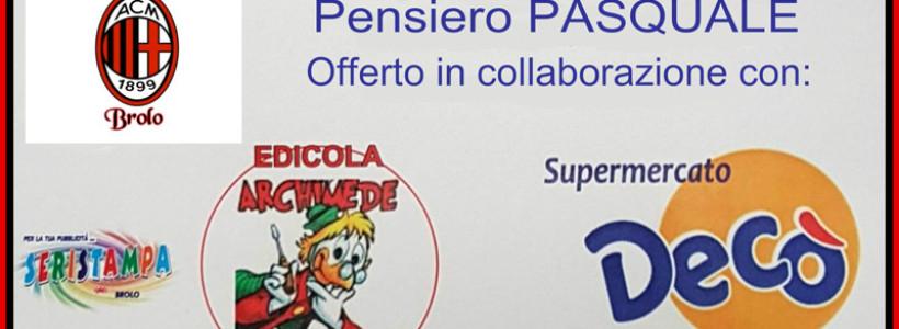 Milan Club Brolo un aiuto nell'emergenza.
