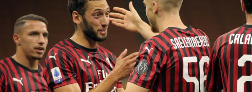 Milan – Bologna , bella Vittoria , 5 – 1