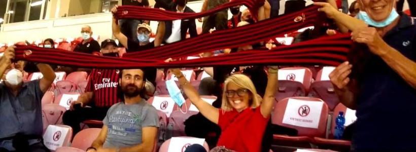 Milan-Bologna…. i nostri club sugli spalti