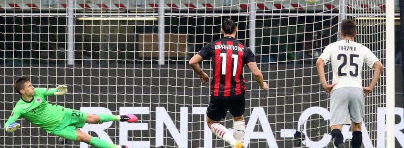 Milan 3 – Sparta Praga 0