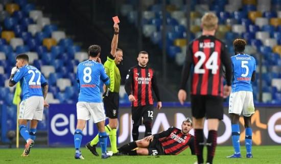 Napoli 1 – Milan 3… e un'altra importante prestazione