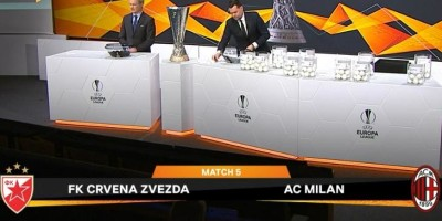 EUROPA LEAGUE… sarà MILAN-STELLA ROSSA