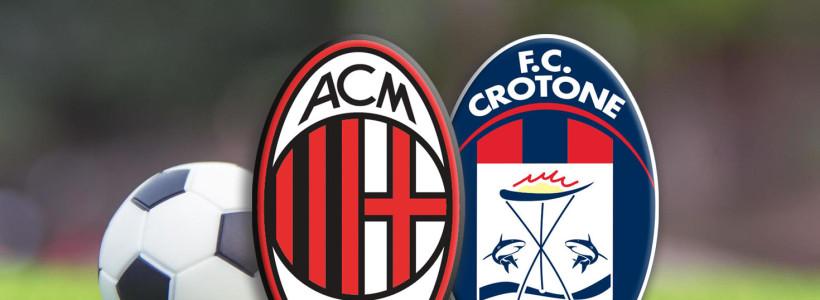 Serie A – Spostamento Milan-Crotone